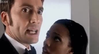 Watch and share Doctor Who Series 3 GIFs and Ten And Martha GIFs on Gfycat