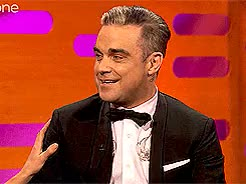 Watch this trending GIF on Gfycat. Discover more Emma Thompson, Graham Norton, Graham Norton Show, Jimmy Carr, Robbie Williams, notes, this was too funny not to gif GIFs on Gfycat