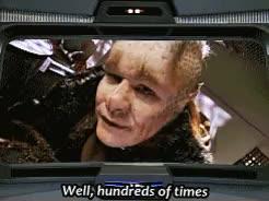 Watch Star Trek GIF on Gfycat. Discover more 1x01, 1x02, Caretaker, Human, Kathryn Janeway, Neelix, Star Trek, Star Trek Voyager, Talaxian, Voy, amused, reaction gifs GIFs on Gfycat