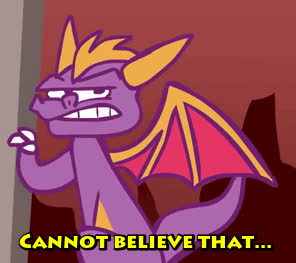 Spyro can't believe that... | Spyro the Dragon GIFs