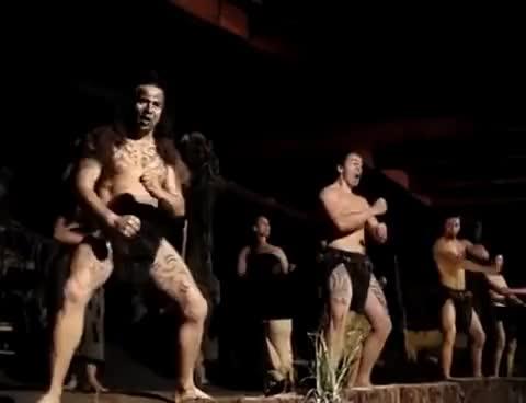 Watch and share Yeni Zelanda - Haka Dansı GIFs on Gfycat