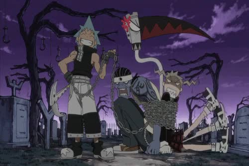 Watch and share Soul Evans Weapon GIFs and Soul Eater Anime GIFs on Gfycat