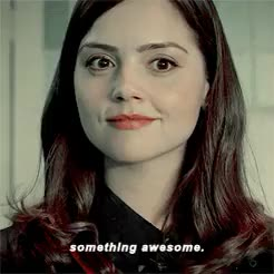 Watch this trending GIF on Gfycat. Discover more Jenna Coleman, by corina, clara oswald, claraedit, doctor who, dwedit, the bells of saint john GIFs on Gfycat