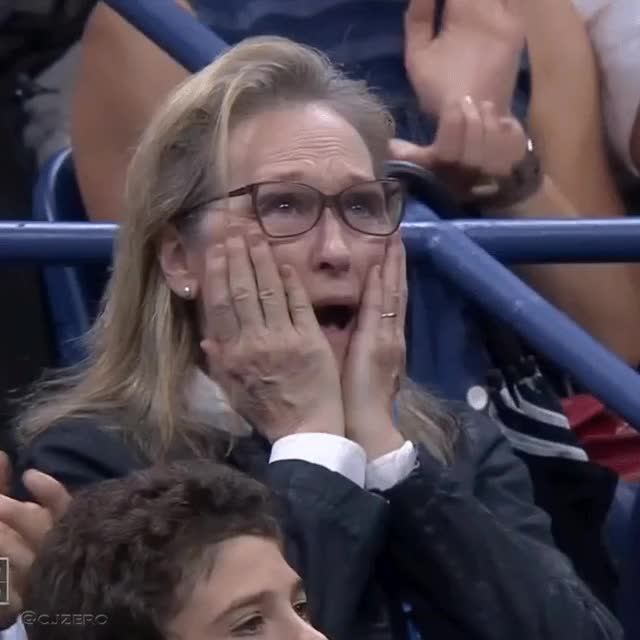 Watch and share Meryl Streep GIFs and Shocked GIFs by andersweb on Gfycat