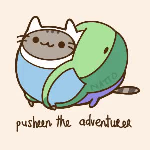 Watch Pusheen GIF on Gfycat. Discover more related GIFs on Gfycat