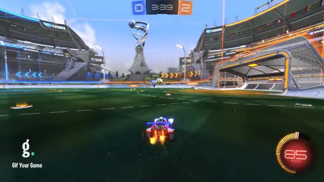 Watch Shot 7: triton GIF by Gif Your Game (@gifyourgame) on Gfycat. Discover more Gif Your Game, GifYourGame, Rocket League, RocketLeague, Shot, triton GIFs on Gfycat