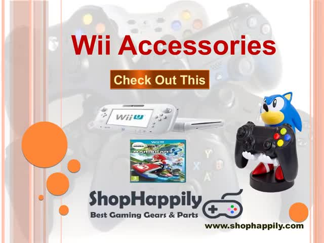 Watch and share Wii Accessories GIFs by shophappily on Gfycat