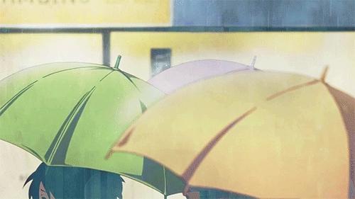 GIF set, Mugi Kotobuki, azusa nakano, gif, gifs, keion, mio akiyama, ritsu tainaka, tsumugi kotobuki, ui hirasawa, yui hirasawa, K-ON! & Umbrellas (& rain) GIFs