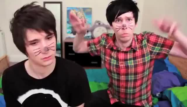 Watch and share Phil Lester GIFs and Dan Howell GIFs on Gfycat