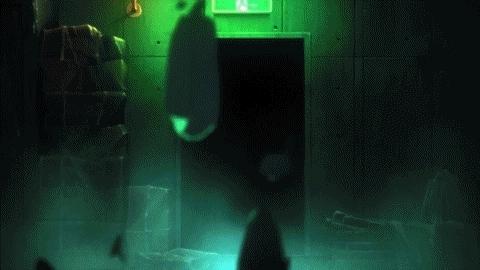 animegifs, Ryougi Shiki's Surprise Attack [Kara no Kyoukai movie 3] (reddit) GIFs