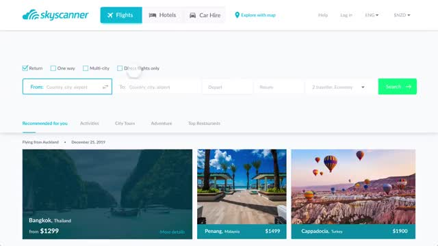 Watch and share Skyscanner Website Redesign GIFs on Gfycat