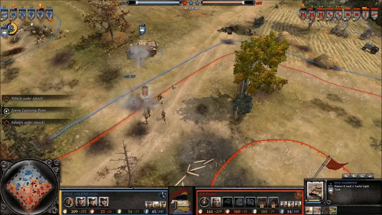 CoH2, Game, GamePlay, Heroes, Panther, WW2, commentary, company, companyofheroes, episode, history, okw, soviets, [COH2][OKW v SU] Propagandacast #1858 Paul v Arx Prime GIFs