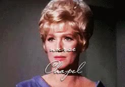 Watch and share Christine Chapel GIFs and Star Trek Tos GIFs on Gfycat