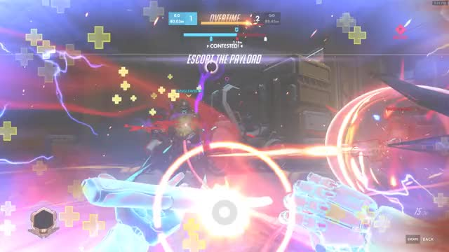 Watch and share Dragonblade GIFs and Overwatch GIFs by noobuhlicious on Gfycat