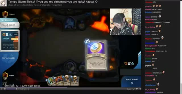 Watch and share Chinese Hearthstone Streamer Trolled Into Racist Song GIFs on Gfycat
