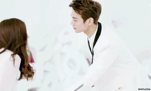 Watch and share Choi Minho Wallpaper Called Minho ''Why So Serious'' MV ~ GIFs on Gfycat