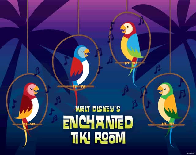 Watch and share Ole! Ole! It's Showtime! Happy Anniversary To Walt Disney's Enchanted Tiki Room At Disneyland! GIFs on Gfycat
