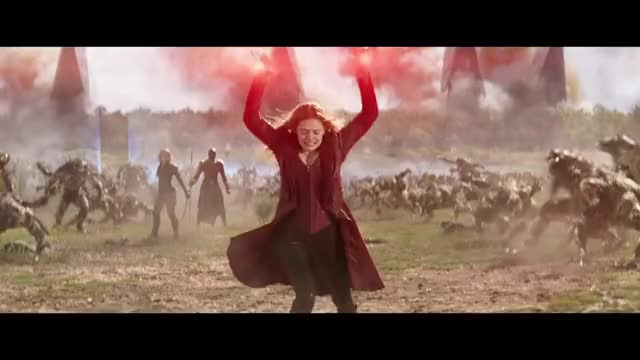 Watch and share Scarlet Witch GIFs and Infinity War GIFs on Gfycat