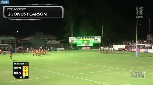 nrl, Pearson's try in the corner (reddit) GIFs