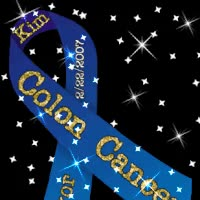 Watch and share Colon Cancer Ribbon Photo: Colon Cancer Survivor 122645858755396.gif GIFs on Gfycat