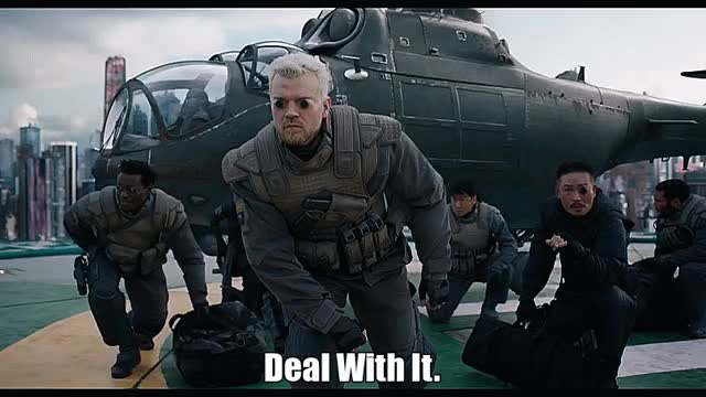 Watch Deal With It. GIF by The Gifs Shop (@thegifshop) on Gfycat. Discover more cool, deal with it, ghost in the shell, helicopter, like a boss, movie, moviegfys, pilou asbaek, sci-fi, shades, slow motion, soldiers, sunglasses GIFs on Gfycat