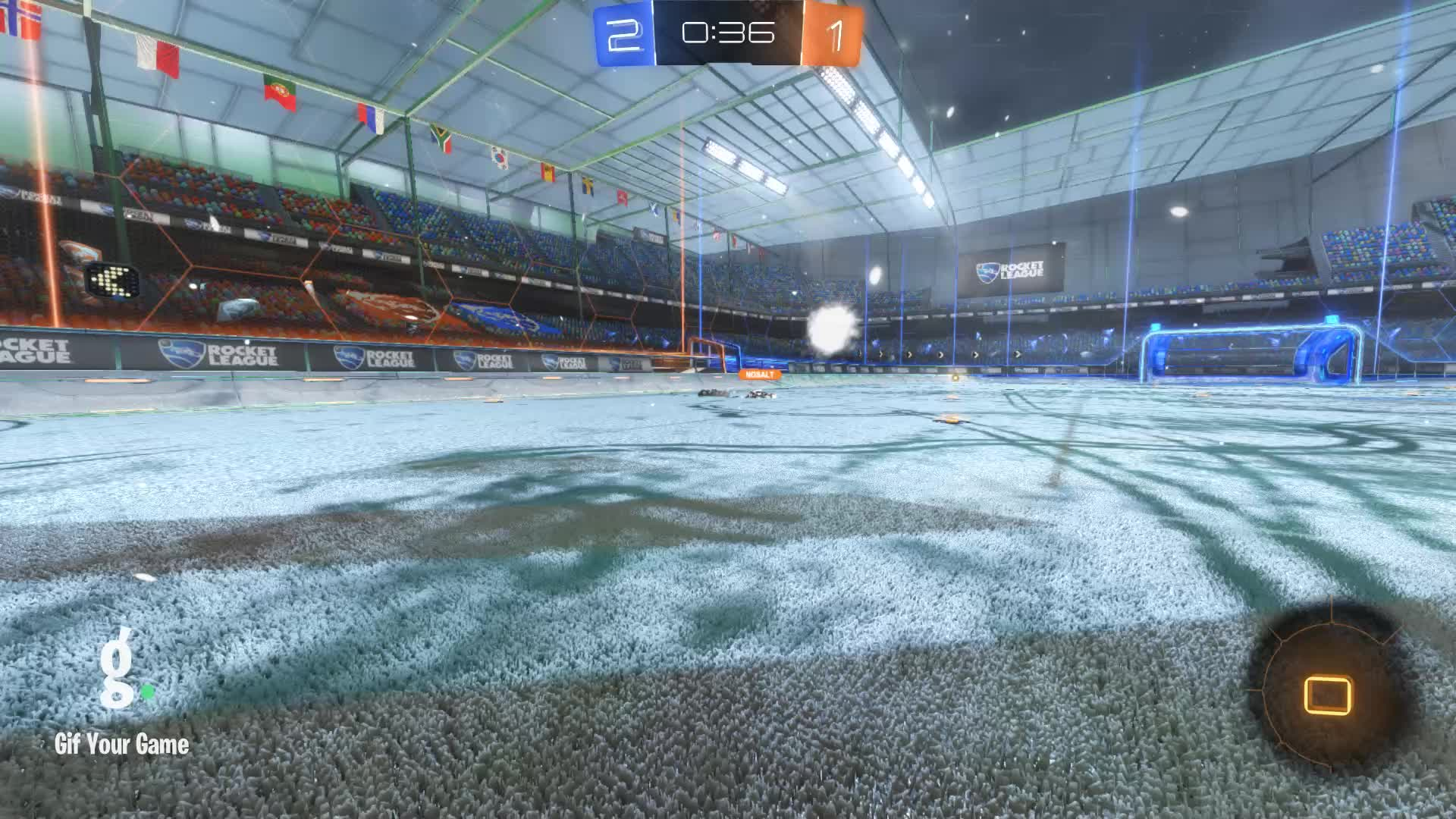 Duck Dodgers, Gif Your Game, GifYourGame, Goal, Rocket League, RocketLeague, Goal 4: Duck Dodgers GIFs