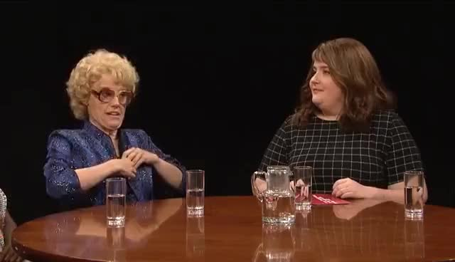Watch and share Actress Round Table - SNL GIFs on Gfycat