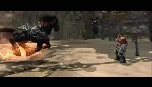 Watch and share Darksiders GIFs and Rouin GIFs on Gfycat