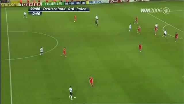 1 zu 0 Deutschland Polen Oliver Neuville