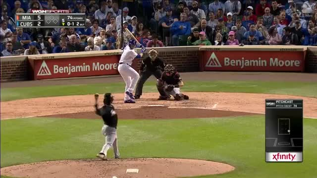 Watch and share Ian Happ Opposite Field Solo Shot GIFs by pwy888 on Gfycat