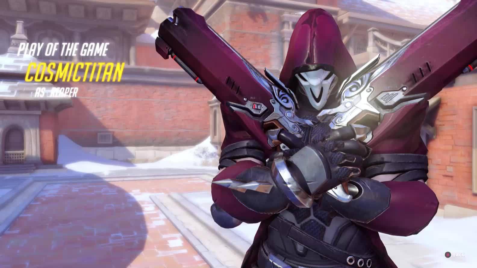 60fpsgifs, overwatch, Reaper Death Blossom Team Wipe GIFs