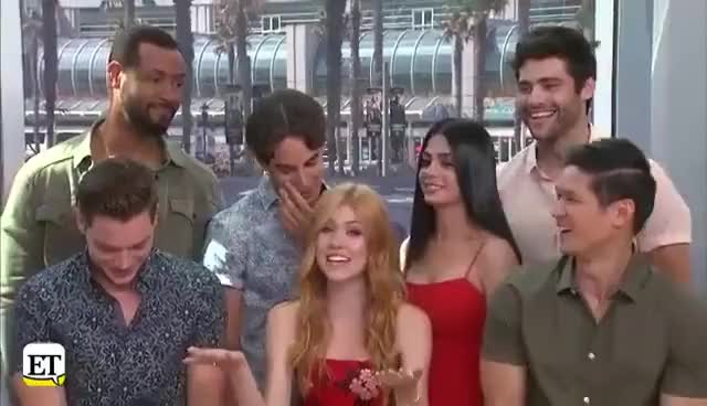 Watch Comic Con 2017: 'Shadowhunters' Cast Reveals Major Season Finale Shocker & a Malec Romance Update! GIF on Gfycat. Discover more related GIFs on Gfycat