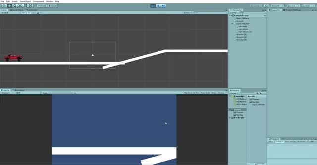 Watch and share Unity 2018.4.9f1 Personal - SampleScene.unity - HillClimb - PC, Mac & Linux Standalone DX11  2019-10-25 09-22-34 GIFs on Gfycat