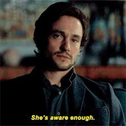 Watch and share Bedelia Du Maurier GIFs and His Face Though GIFs on Gfycat