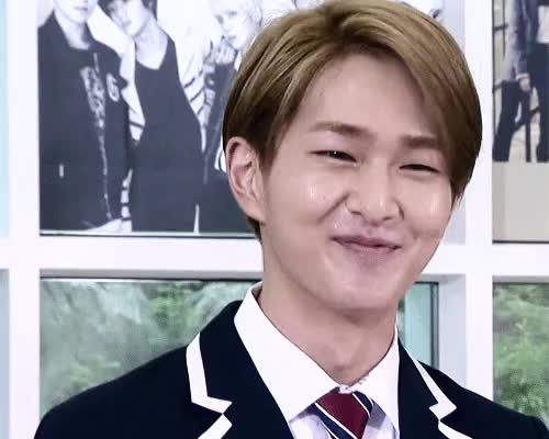 Watch His bashful smile. GIF on Gfycat. Discover more gif, he looks bashful in the 2nd gif, how can i not gif jinki?!, jinki, my prince jinki, ok i know i said i wun gif anything else but i cant resist, onew, rinn, shinee, smile, the ultimate group GIFs on Gfycat