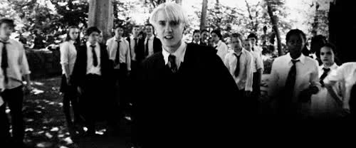 Watch and share I Cant Stop Staring GIFs and Draco Malfoy GIFs on Gfycat