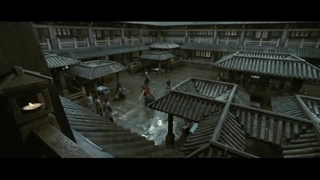 Watch and share ☯ Donnie Yen Vs 7 Imperial Guards( Hero) ☯ GIFs by frenchvanilla on Gfycat