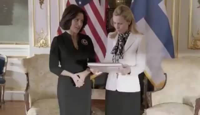 Watch and share Veep Goes To Helsinki GIFs on Gfycat