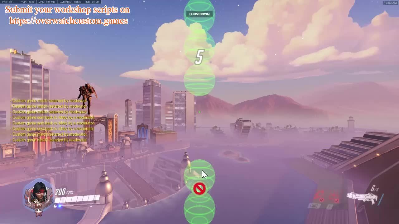 custom games, overwatch, workshop, Flappy Pharah by ThriveR (https://overwatchcustom.games) GIFs