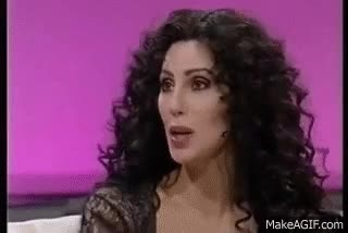 Watch Cher talks about Madonna and plastic surgery... GIF on Gfycat. Discover more cher GIFs on Gfycat