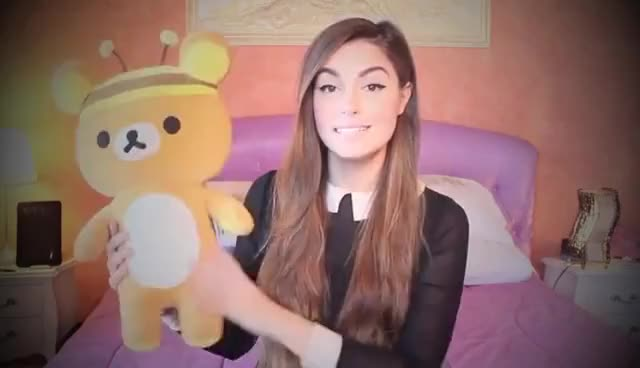 Watch Marzia and Rilakkuma GIF on Gfycat. Discover more cute, cutiepiemarzia, rilakkuma GIFs on Gfycat