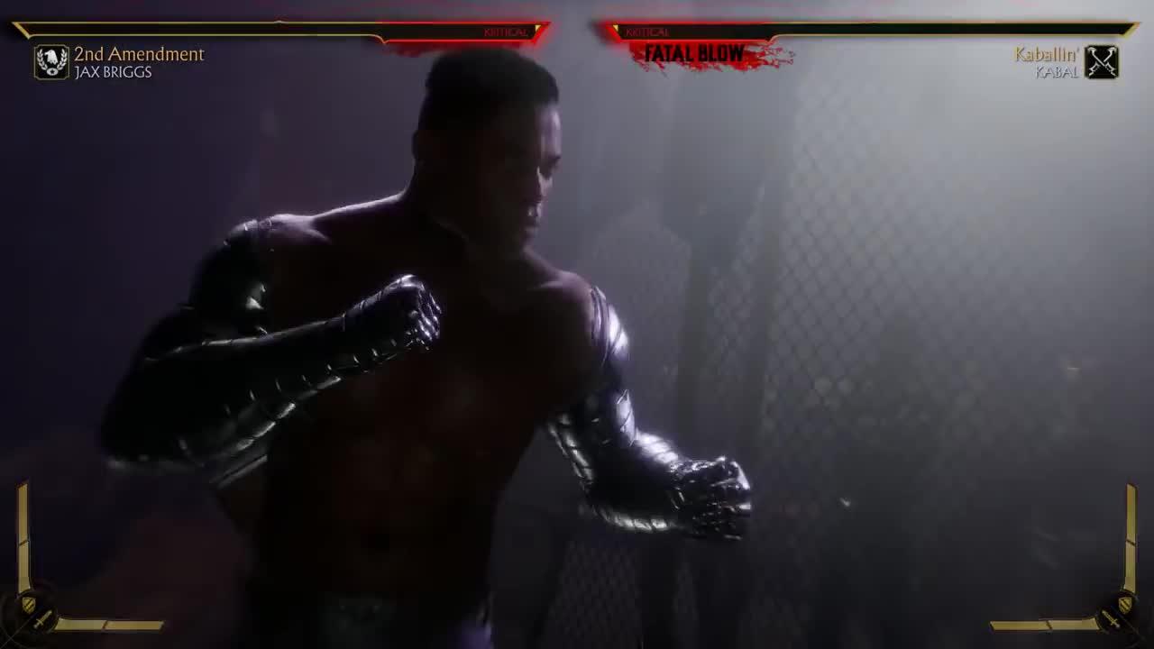 fatal blow, gaming, mk, mk11, mortal kombat, mortal kombat 11, MK11 - Jax Briggs Fatal Blow GIFs