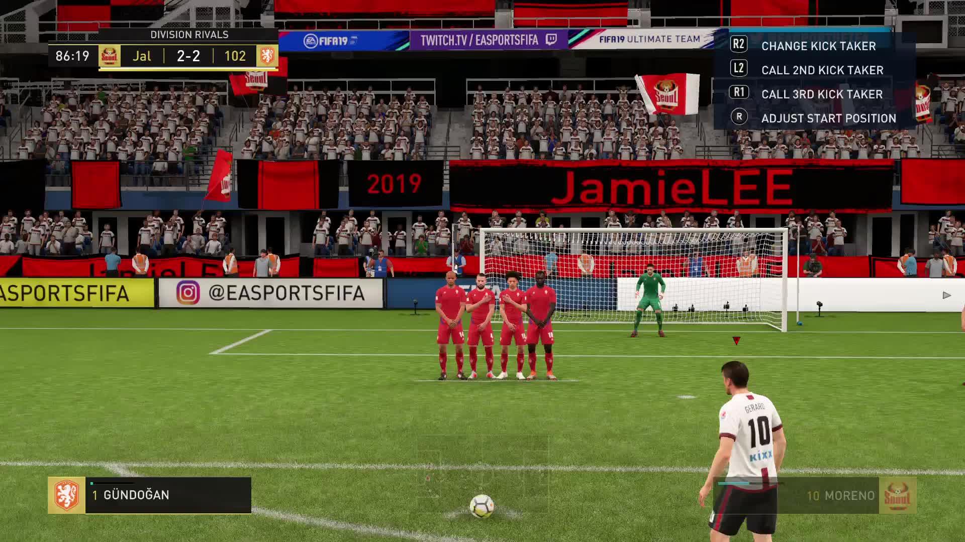 #PS4share, FIFA 19, Gaming, Jamie LEE, PlayStation 4, Sony Interactive Entertainment, FIFA 19_20190207170408 GIFs