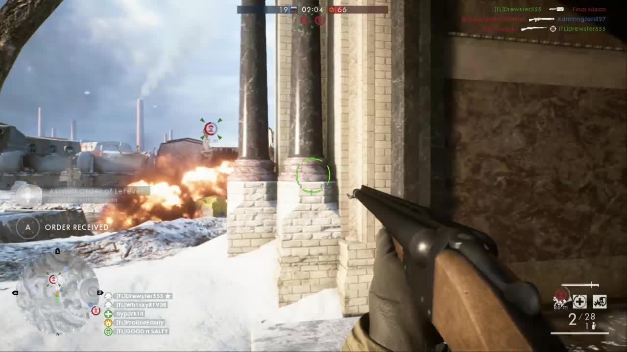 battlefield, battlefield_one, bf1, xbox, Battlefield One - Obrez pistol or Dud club GIFs