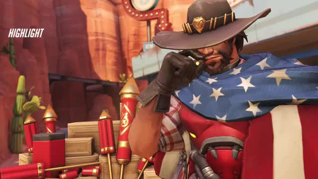 Watch and share Overwatch GIFs by Deluxe on Gfycat