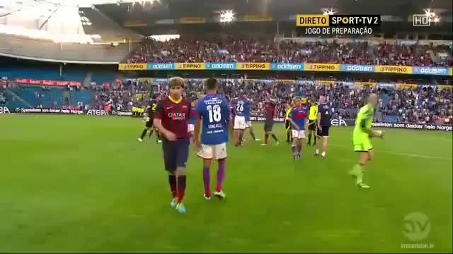 Watch and share Valerenga Vs Barcelona   Full Match 27 04 2013 Friendly HD   2nd Half (reddit) GIFs by navidjaan on Gfycat