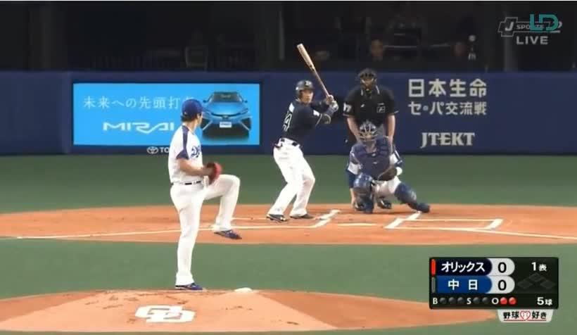中日ドラゴンズ Vs オリックス・バファローズ 3回戦 2018年5月31日(木 ...