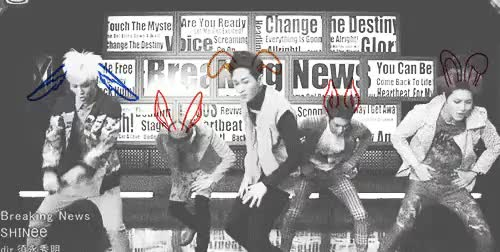 Watch Breaking News - Bunny Style GIF on Gfycat. Discover more Jonghyun, breaking news, but you wouldn't see those ears otherwise, i know it's too bright, key, made by me, minho, onew, shinee, shinee breaking news, so i did a thing, teamin GIFs on Gfycat