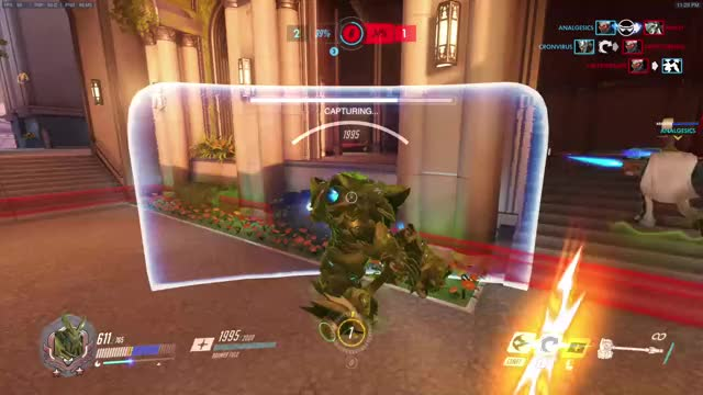 Watch and share Overwatch GIFs and Reinhardt GIFs by cronvirus on Gfycat