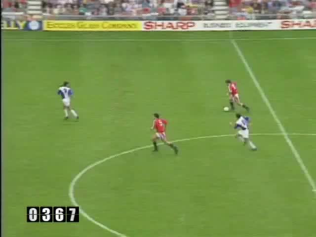 Watch 1991-92 16 Hughes GIF by @mu_goals on Gfycat. Discover more related GIFs on Gfycat
